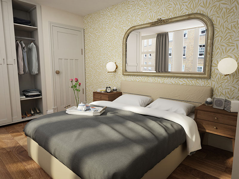 Fitzrovia bedroom visual